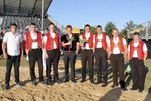 Das Toggenburger Team am ENST 2015 Foto: Pascal Schönenberger