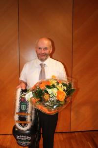 Fredi Kurmann wurde Ehrenmitglied im St. Galler Kantonalen Schwingerverband Foto: Pascal Schönenberger